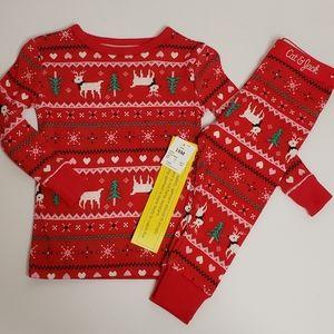NWT Red Reindeer Christmas Holiday Pajamas